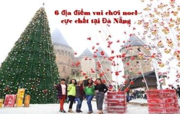 Những địa điểm vui chơi Noel tại Đà Nẵng